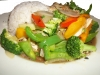 2. Khao Rad Khai Pad Broccoli - $8.45