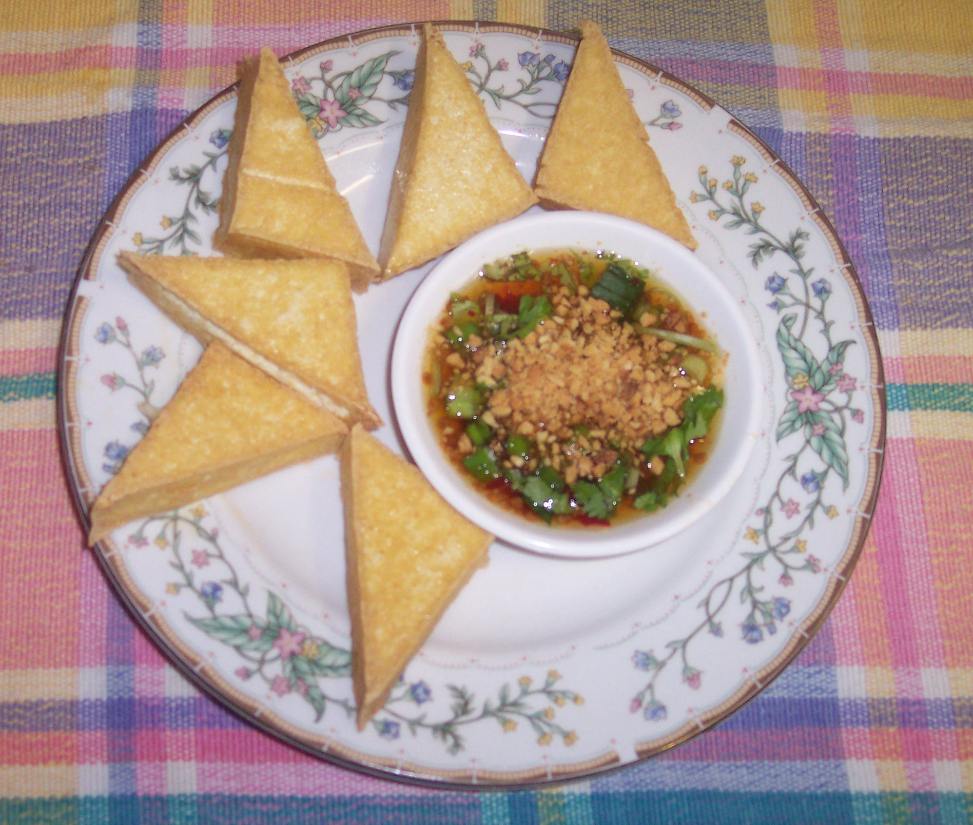 105 Thai Fried Tofu -