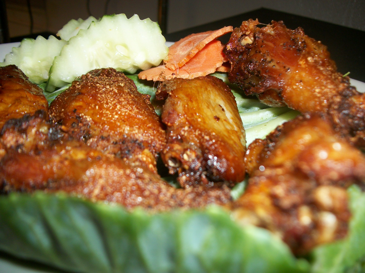 107 Pornouma's Special Chicken Wings -